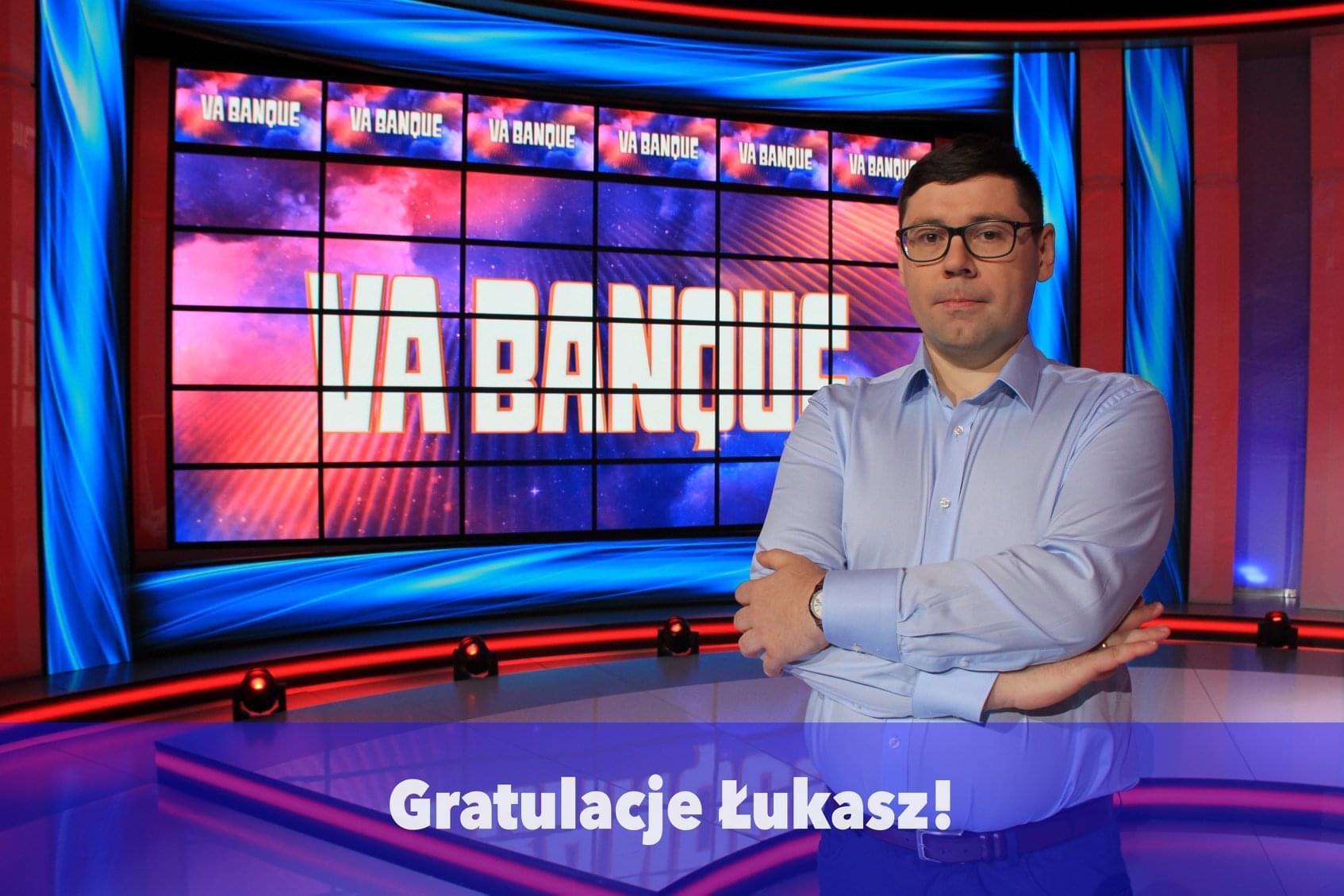 Mieszkaniec powiatu mieleckiego wziął udział w teleturnieju Va banque - Zdjęcie główne