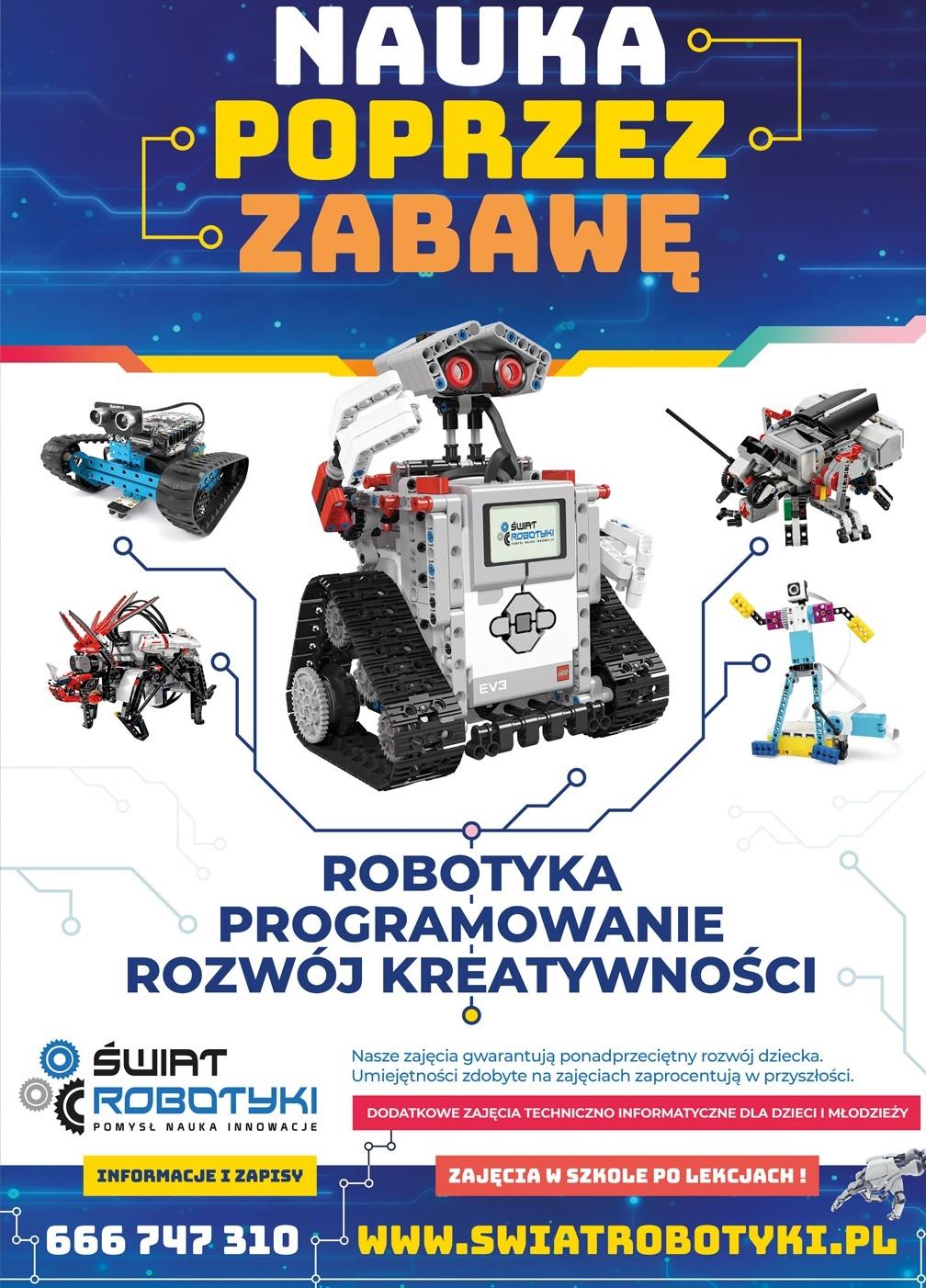 O robotach dla dzieci - Zdjęcie główne
