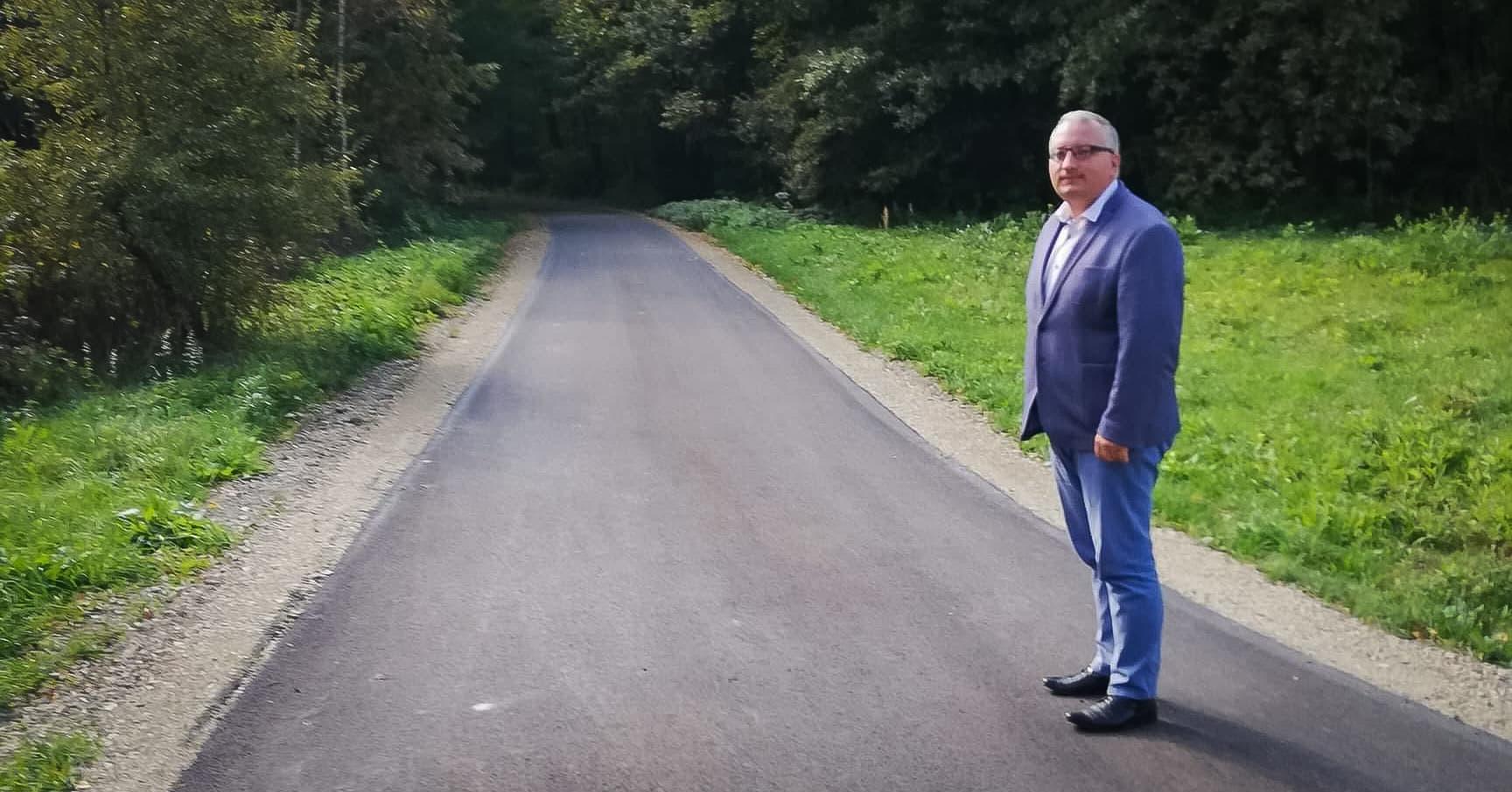 Nowe drogi w Gminie Czermin [FOTO] - Zdjęcie główne