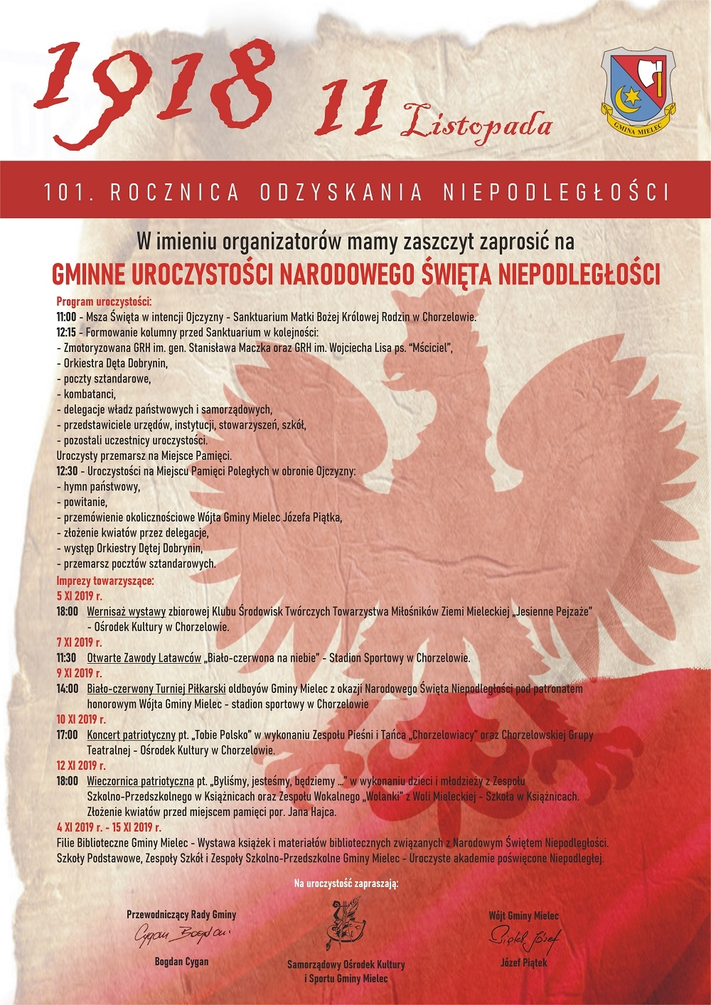 Gmina Mielec dla Niepodległej - Zdjęcie główne