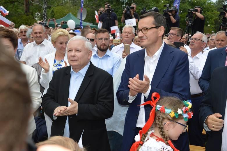 Festiwal obietnic rządzących w Stalowej Woli [VIDEO] - Zdjęcie główne