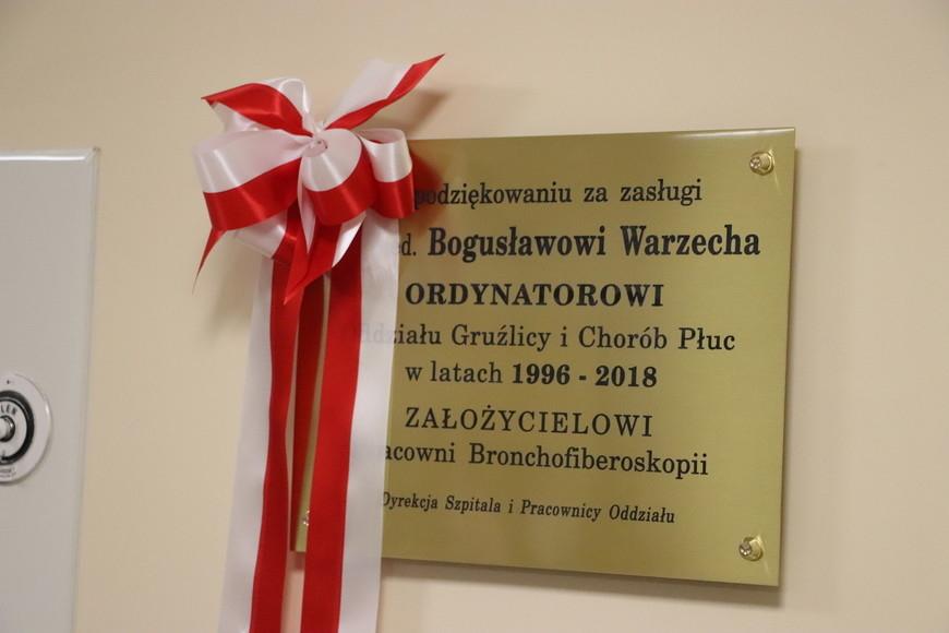 Tablica dla Bogusława Warzechy - Zdjęcie główne