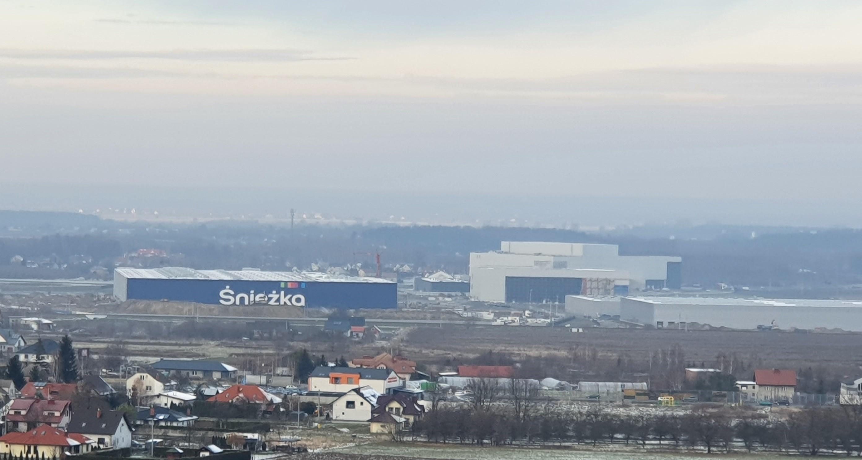 Gospodarka. Powstaje ogromne centrum dystrybucyjne firmy Śnieżka pod Dębicą  - Zdjęcie główne