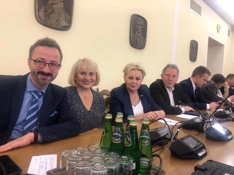 Krystyna Skowrońska wybrała pracę w Komisji Finansów  - Zdjęcie główne