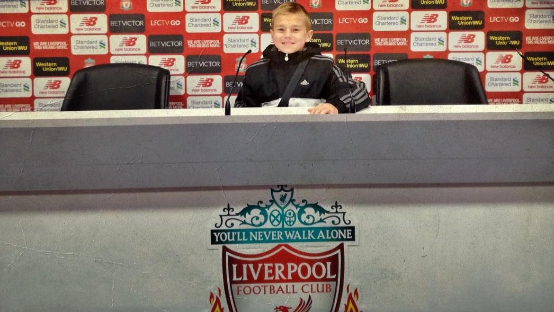 Zawodnik Piłkarskich Nadziei leci do Liverpoolu - Zdjęcie główne