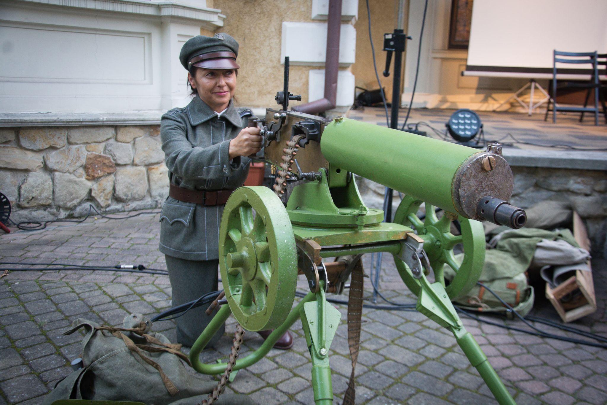 Bitwa z Bolszewikami w Parku Oborskich [FOTO,VIDEO] - Zdjęcie główne