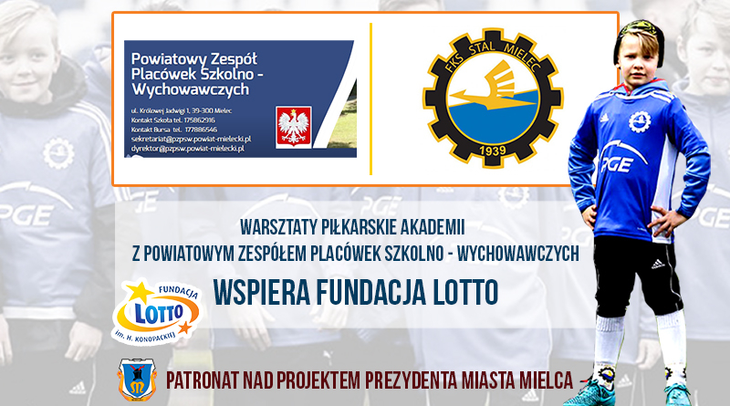 Warsztaty piłkarskie dla wychowanków Powiatowego Zespołu Placówek Szkolno-Wychowawczych  - Zdjęcie główne