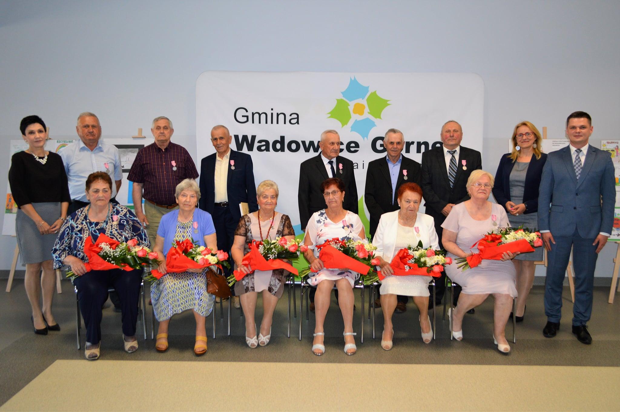 Uroczystość w Wadowicach. Sześć małżeństw przeżyło z sobą 50 lat - Zdjęcie główne