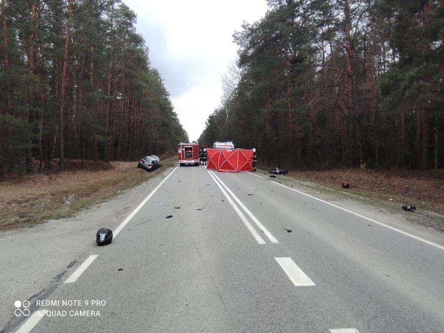 Tragedia w powiecie stalowowolskim! Kobieta zginęła w wypadku drogowym [MAPA] - Zdjęcie główne