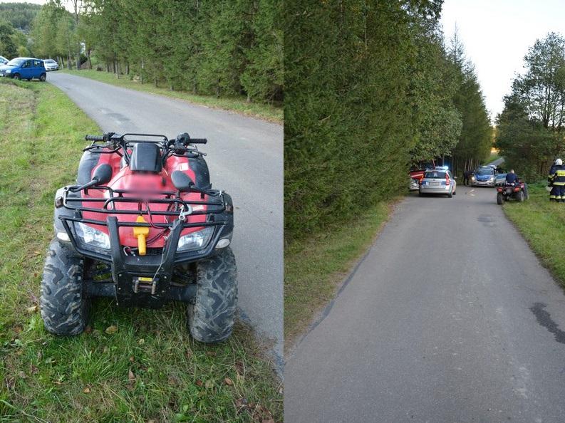 Pijany kierowca quada chciał ich nastraszyć. Skończyło się na ciężkich obrażeniach i zarzutach - Zdjęcie główne