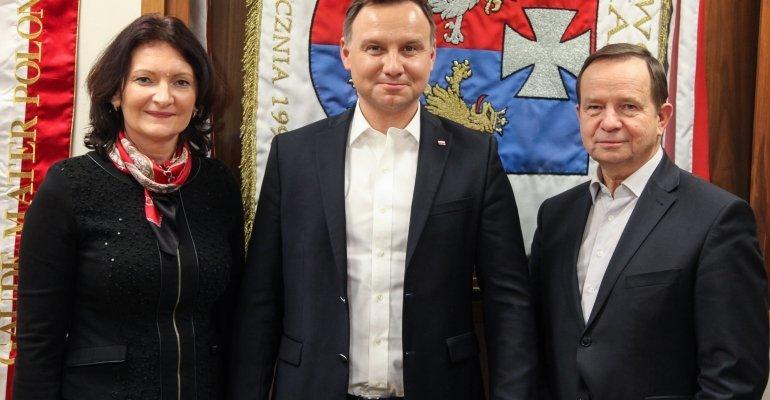 Czy doszło do spotkania Andrzeja Dudy z Ewą Leniart? - Zdjęcie główne
