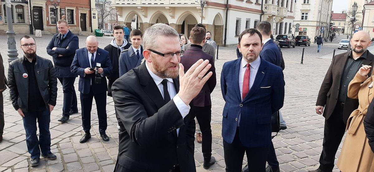 Grzegorz Braun kandydatem Konfederacji na prezydenta Rzeszowa - Zdjęcie główne