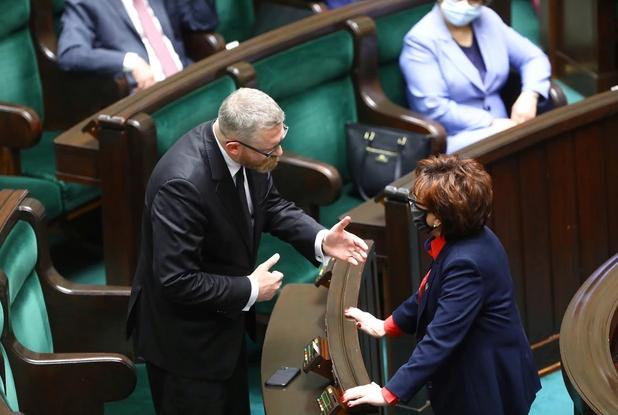 Kłótnia w Sejmie. Grzegorz Braun wykluczony z obrad! - Zdjęcie główne