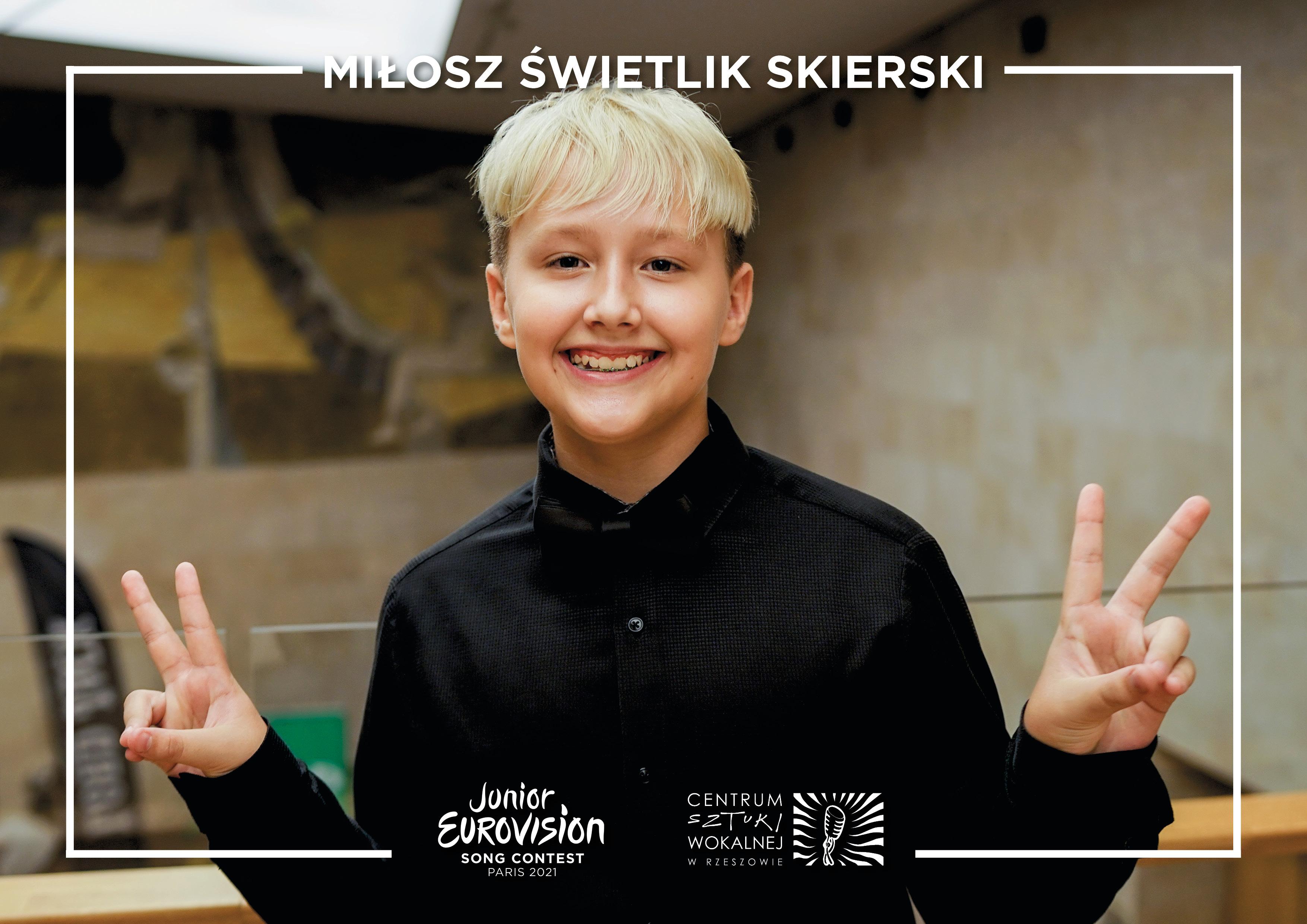 Miłosz Świetlik-Skierski rzeszowski brylant z szansą na Eurowizję Junior [WIDEO] - Zdjęcie główne