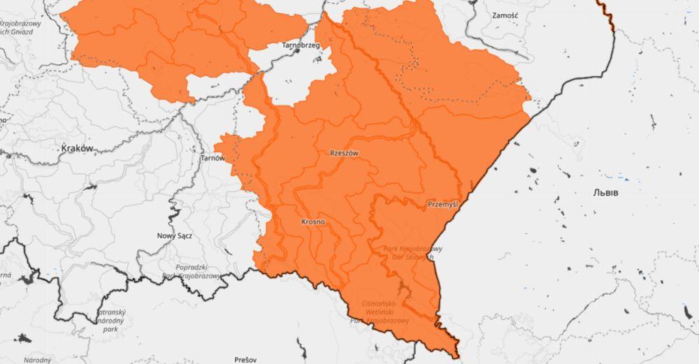 Odwilż: przybywa wody w rzekach Podkarpacia - Zdjęcie główne