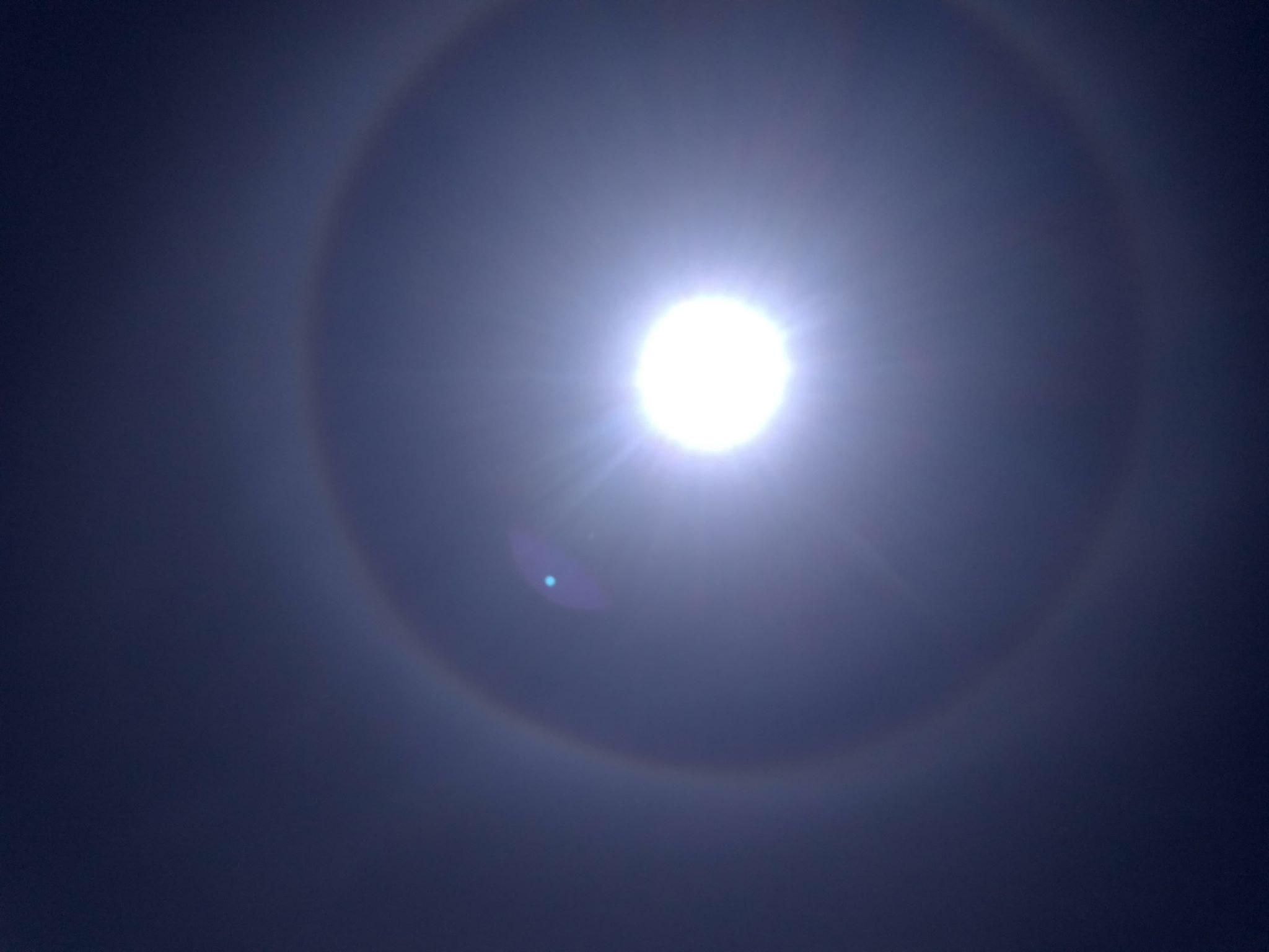 Efekt halo pojawił się na Podkarpaciu [FOTO] - Zdjęcie główne