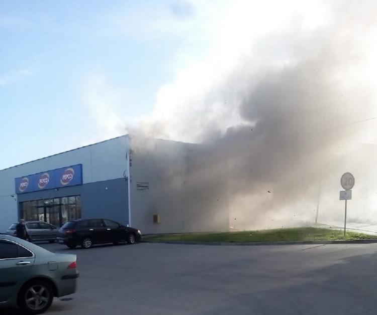 Płonie Pepco - aż 9 zastępów straży gasiło pożar!  - Zdjęcie główne