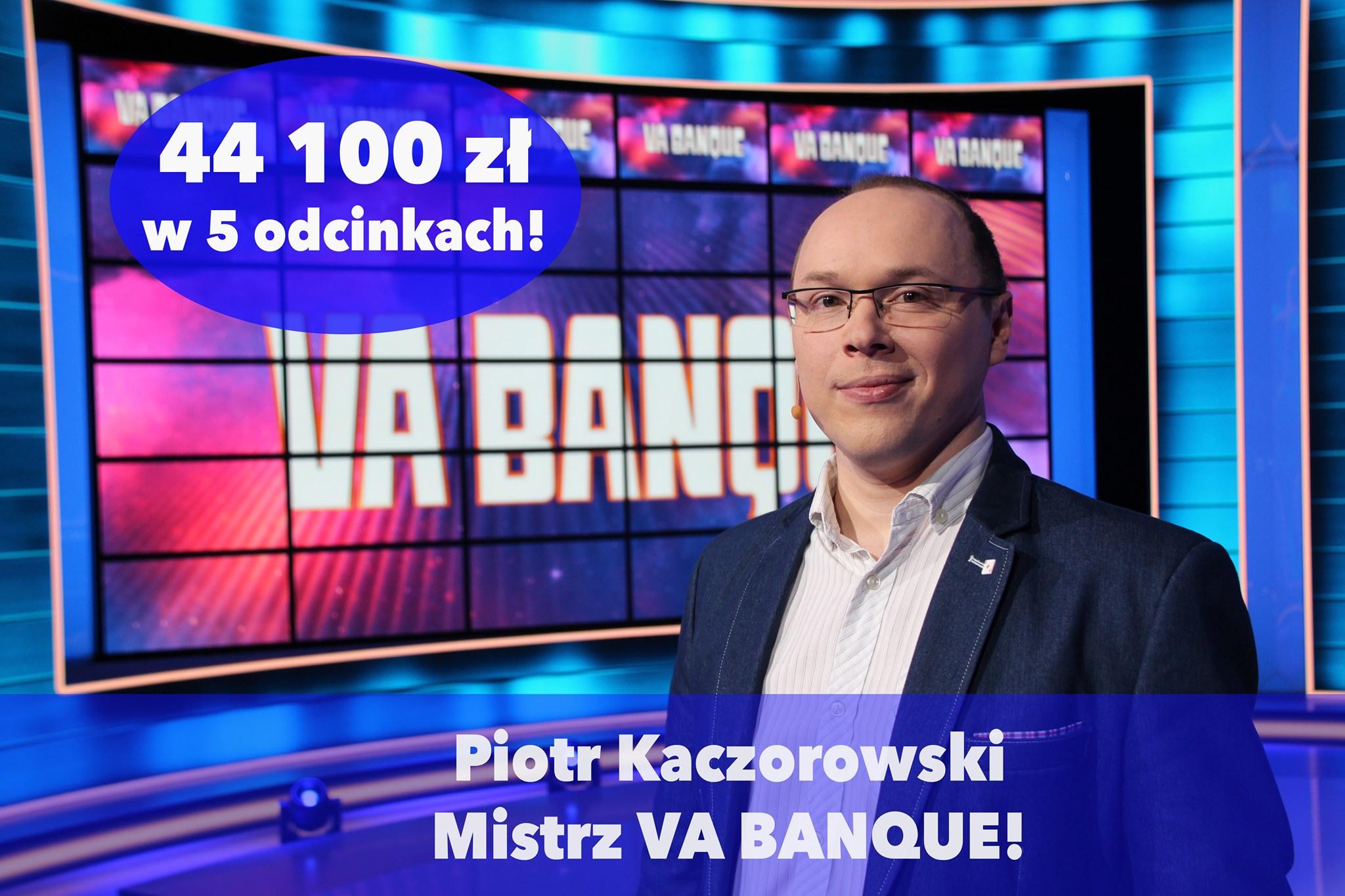 Mistrz Va Banque jest z Tarnobrzega! [WIDEO] - Zdjęcie główne