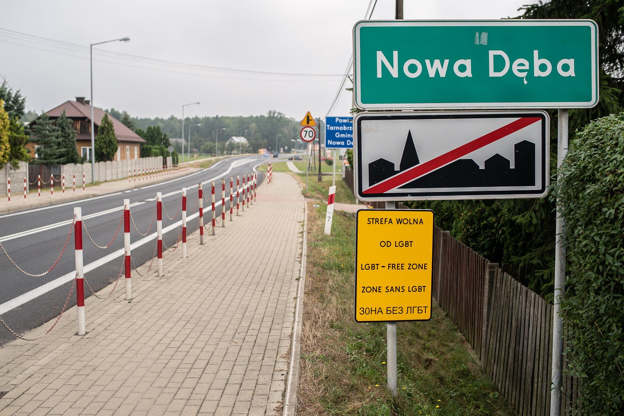 """Nowodębski samorząd wycofuje swoją deklarację antyLGBT! """"Nikt nikogo tutaj nie prześladuje""""! - Zdjęcie główne"""