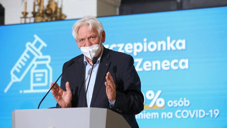 Prof. Andrzej Horban: - Jeśli nie da się zachęcić ludzi do szczepień, trzeba wprowadzić taki obowiązek! - Zdjęcie główne