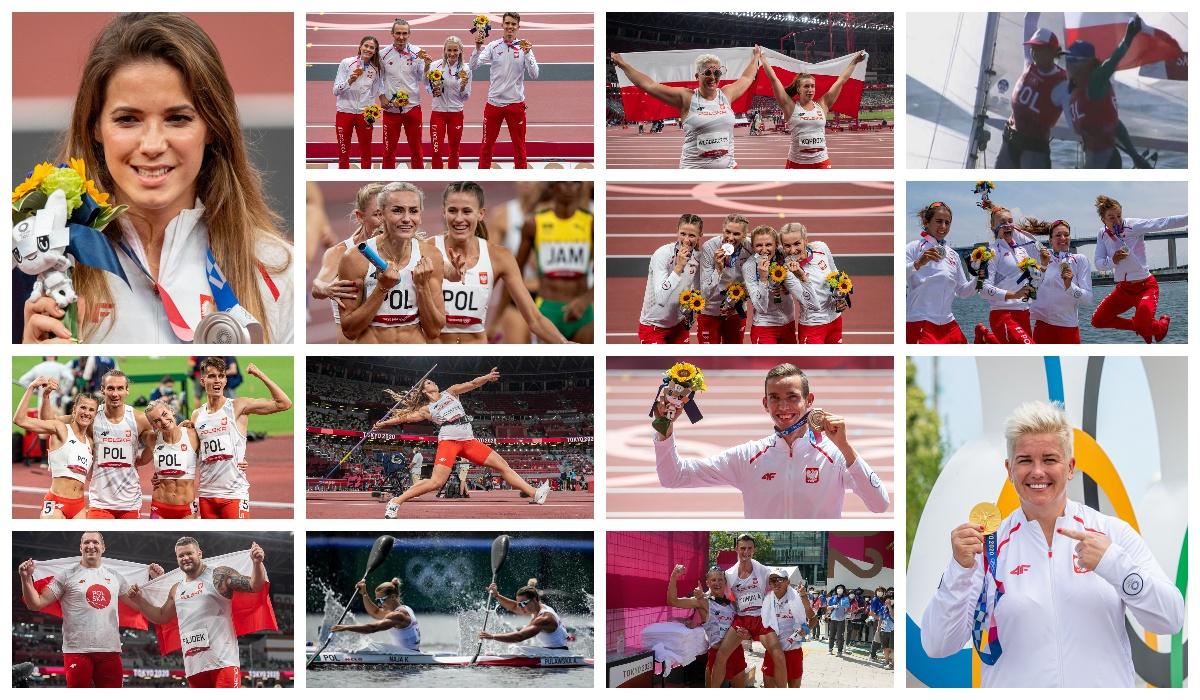 Wszystkie medale POLAKÓW w Tokio. Przeżyjmy to raz jeszcze [ZDJĘCIA] - Zdjęcie główne