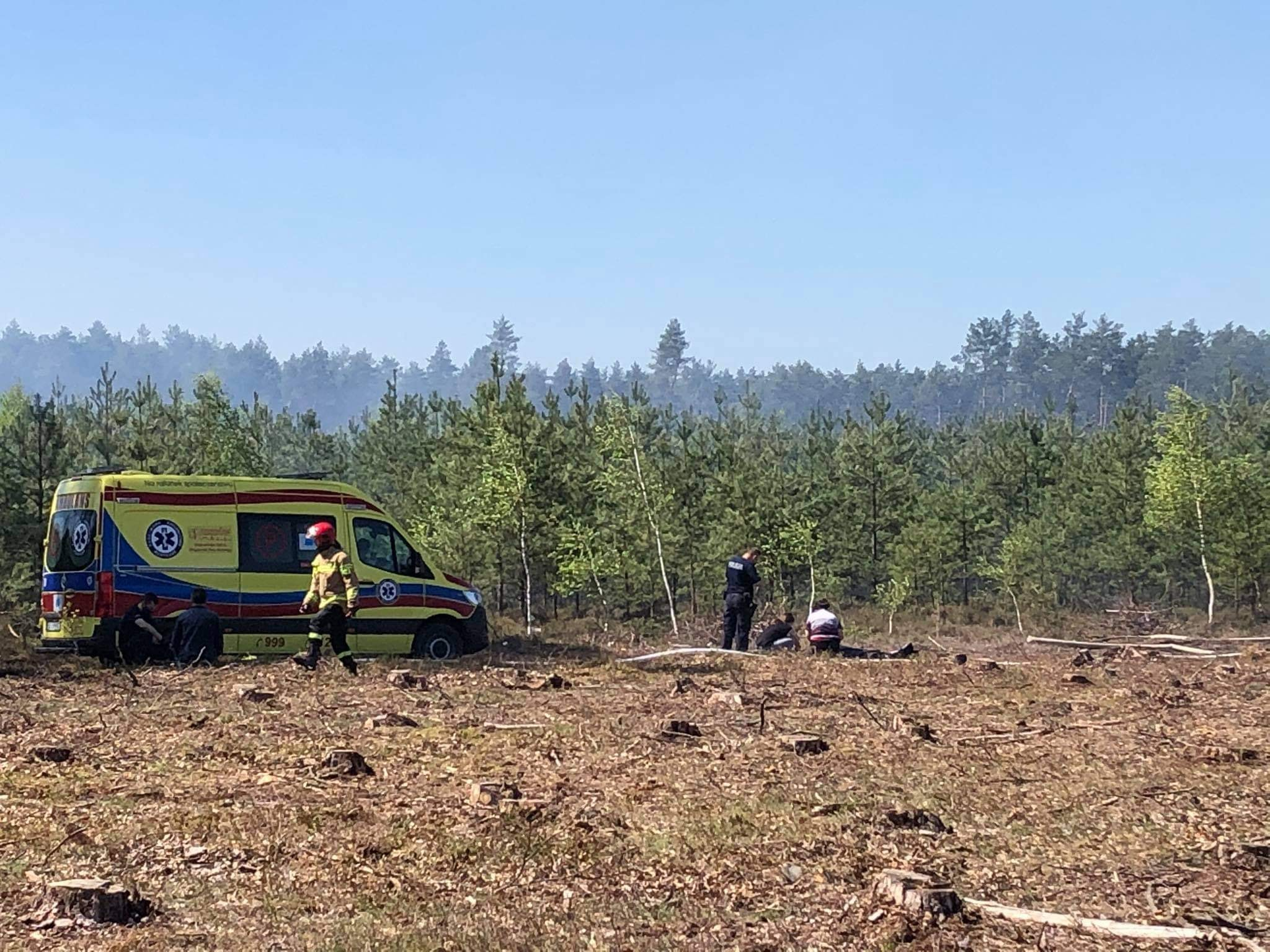 TRAGICZNY finał pożaru lasu! Jedna osoba nie żyje [ZDJĘCIA] - Zdjęcie główne