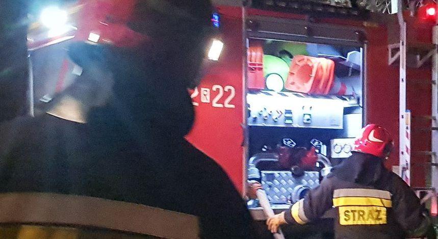 """Wypadek na krajowej """"28-tce"""". Były utrudnienia na trasie Sanok-Przemyśl [MAPA] - Zdjęcie główne"""