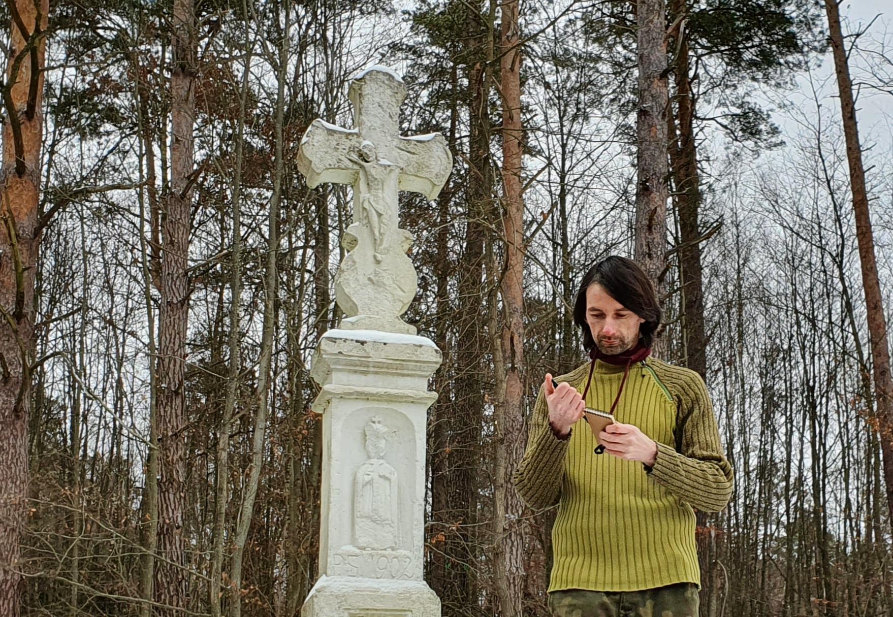 Bruśnieńskie krzyże przydrożne. Historia w kamieniu - Zdjęcie główne