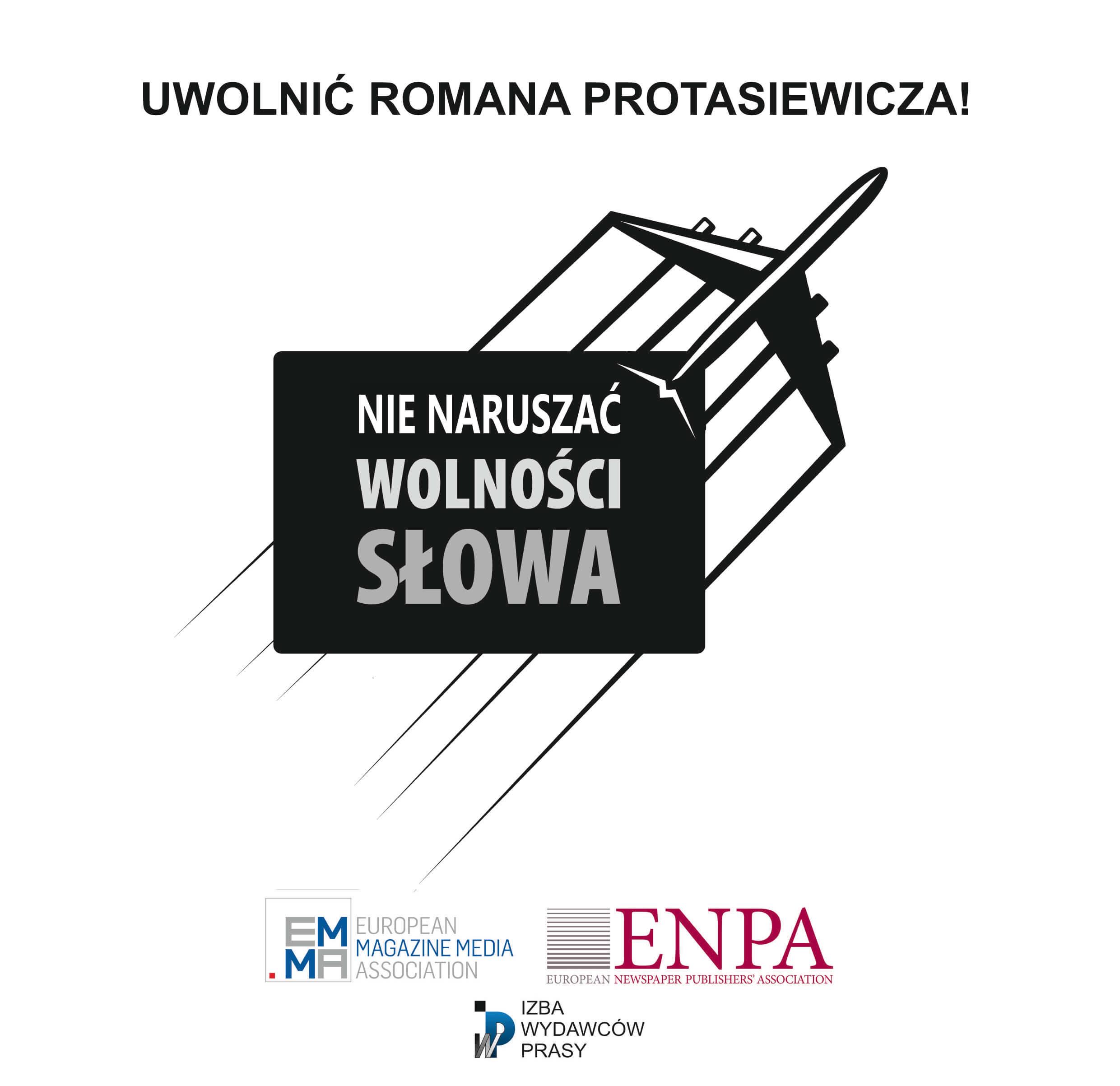 Apel Izby Wydawców Prasy: - Uwolnić Romana Protasiewicza! - Zdjęcie główne