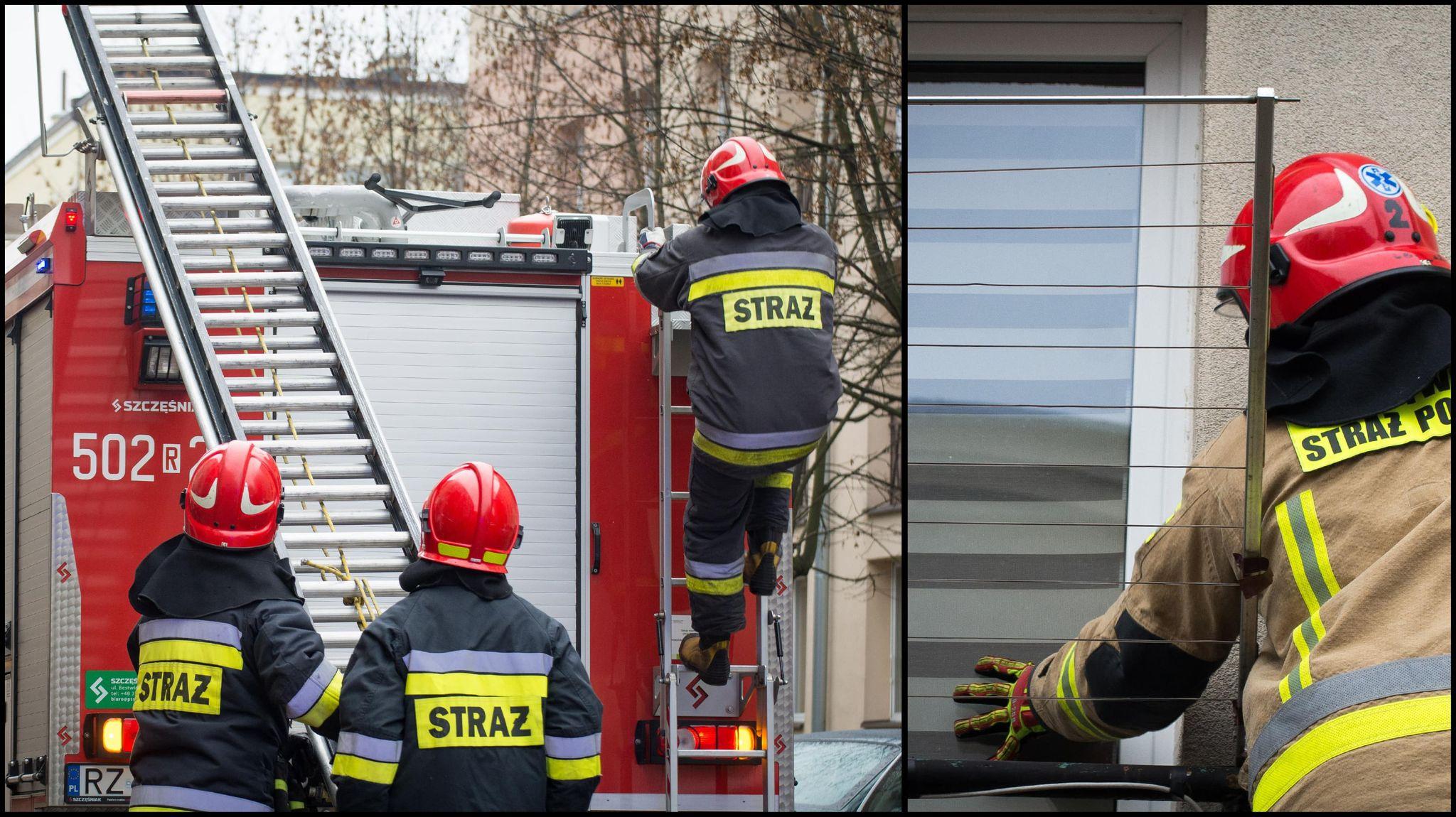 Akcja ratunkowa w centrum Mielca! - Zdjęcie główne