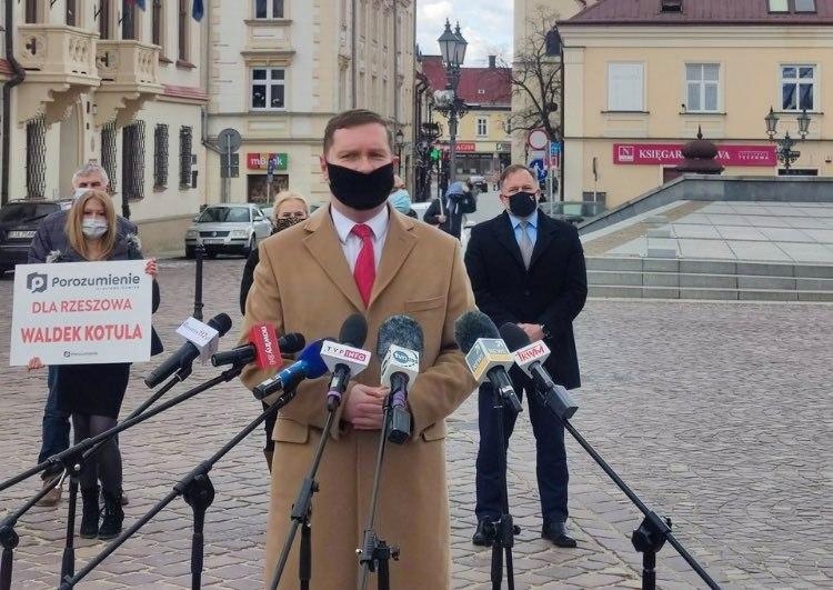 Waldemar Kotula kandydatem Porozumienia na stanowisko prezydenta Rzeszowa - Zdjęcie główne