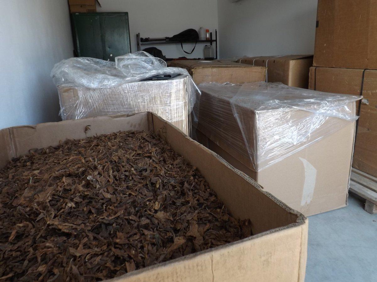 Dwie tony tytoniu i specjalne maszyny. Policja zamknęła nielegalny proceder [ZDJĘCIA] - Zdjęcie główne