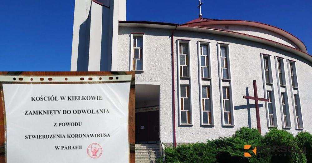 Zamknięty kościół w powiecie mieleckim! Koronawirus w natarciu! - Zdjęcie główne