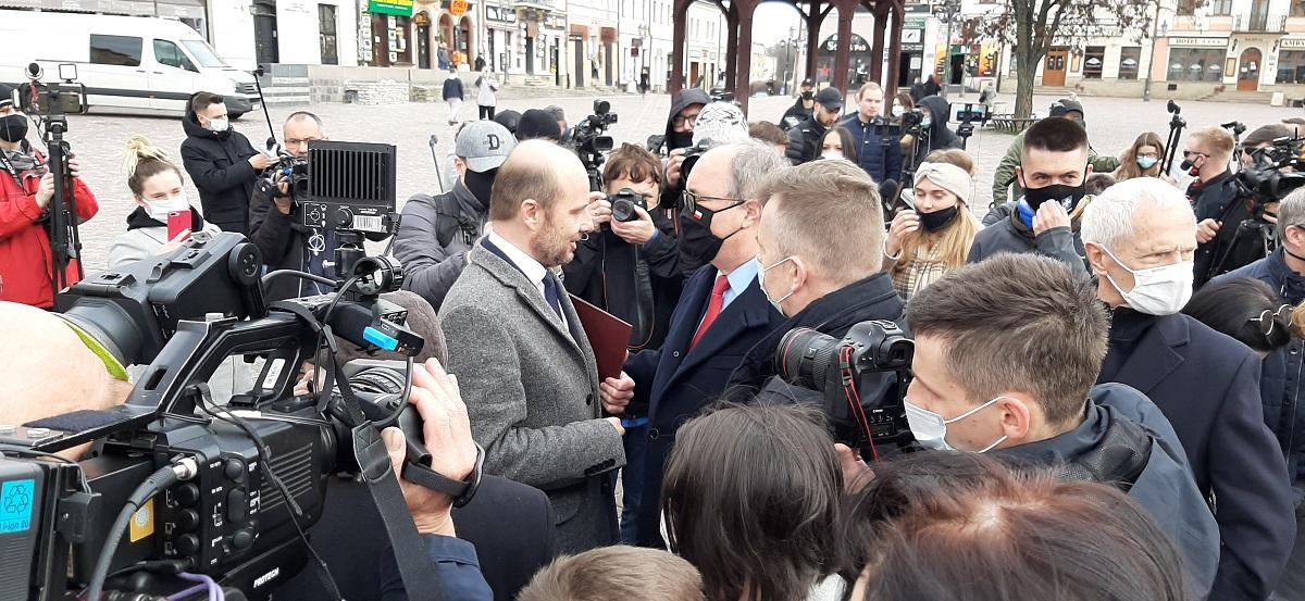 Potężne wsparcie polityczne Konrada Fijołka [WIDEO] - Zdjęcie główne