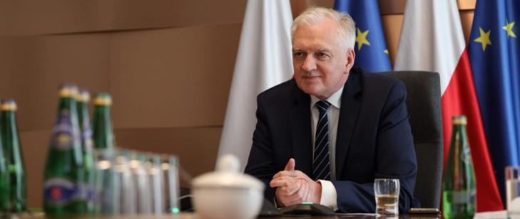 Jarosław Gowin w piątek w Rzeszowie - Zdjęcie główne