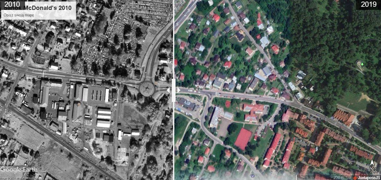Zmieniające się miasta Podkarpacia [ZDJĘCIA SATELITARNE] - Zdjęcie główne