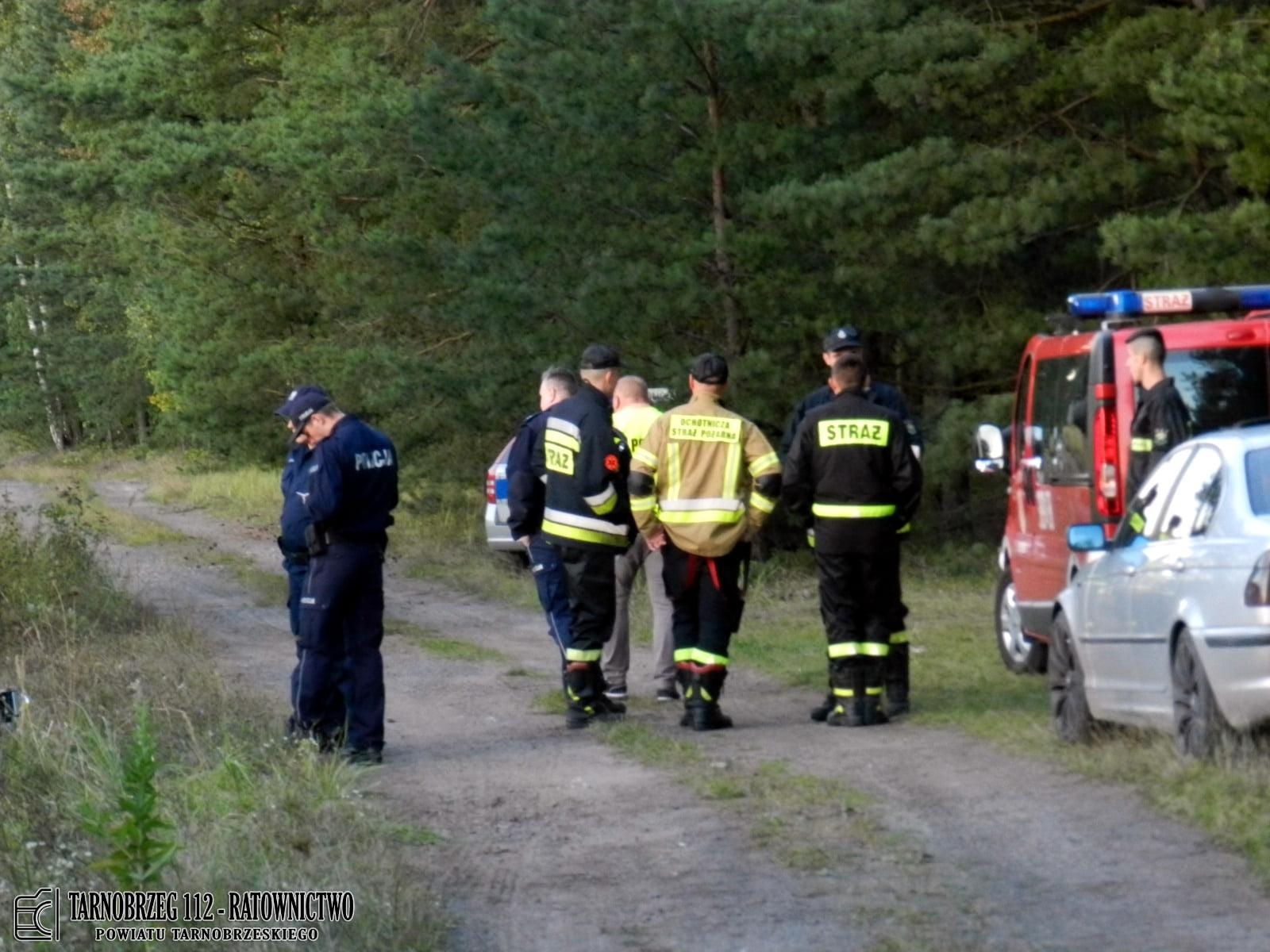 Poszukiwania zaginionego! W akcji brało udział aż 7 zastępów straży pożarnej! [ZDJĘCIA] - Zdjęcie główne