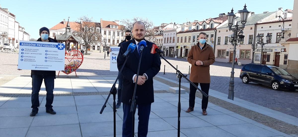 Maciej Masłowski startuje z własnego komitetu. Poznaliśmy główne punkty programu - Zdjęcie główne