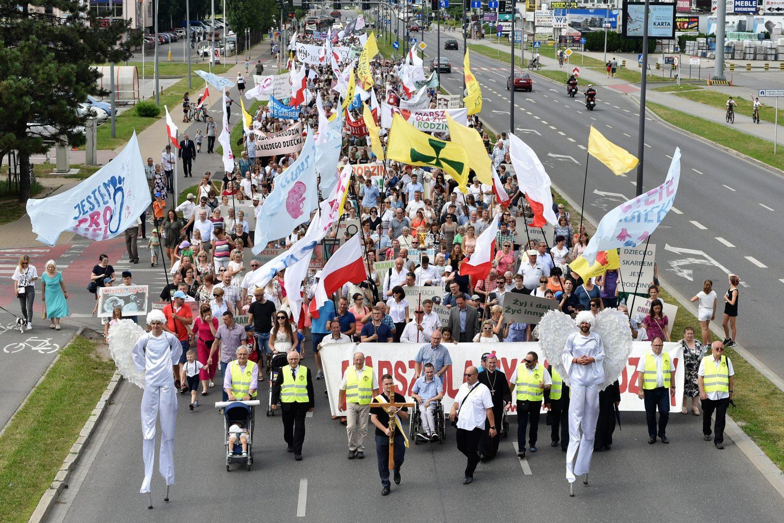 Marsz Dla Życia i Rodziny przejdzie ulicami Rzeszowa - Zdjęcie główne