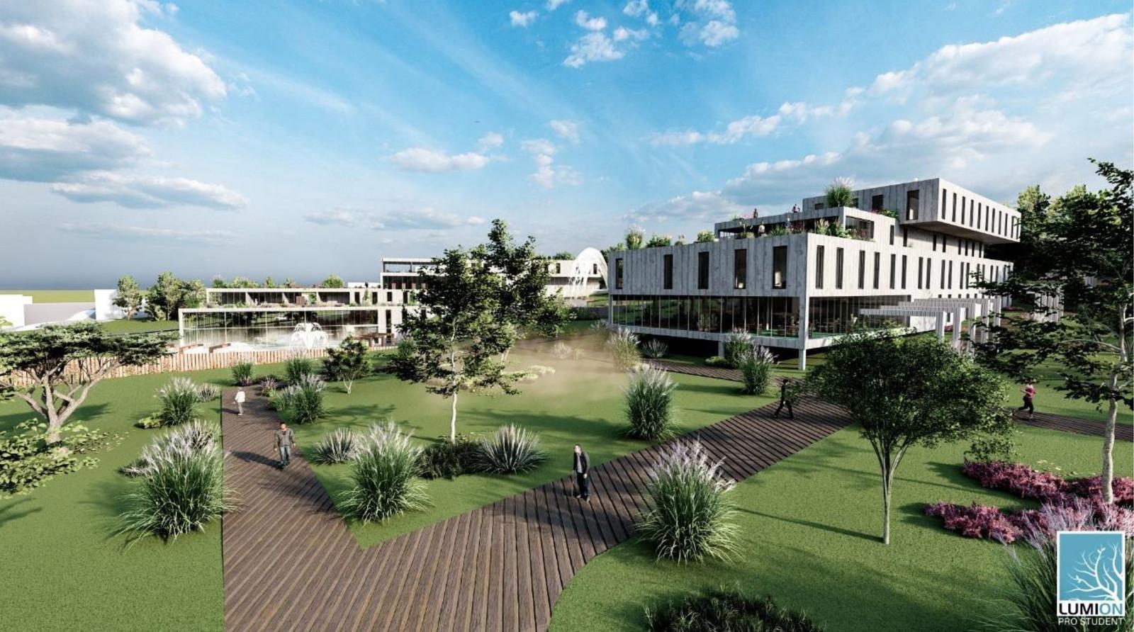 Studentka stworzyła projekt architektoniczny sanatorium w Birczy [ZDJĘCIA] - Zdjęcie główne