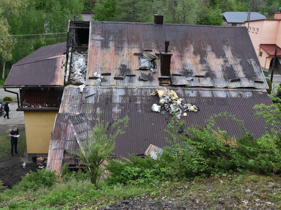 Bez skrupułów podpalił dom jednorodzinny [ZDJĘCIA] - Zdjęcie główne