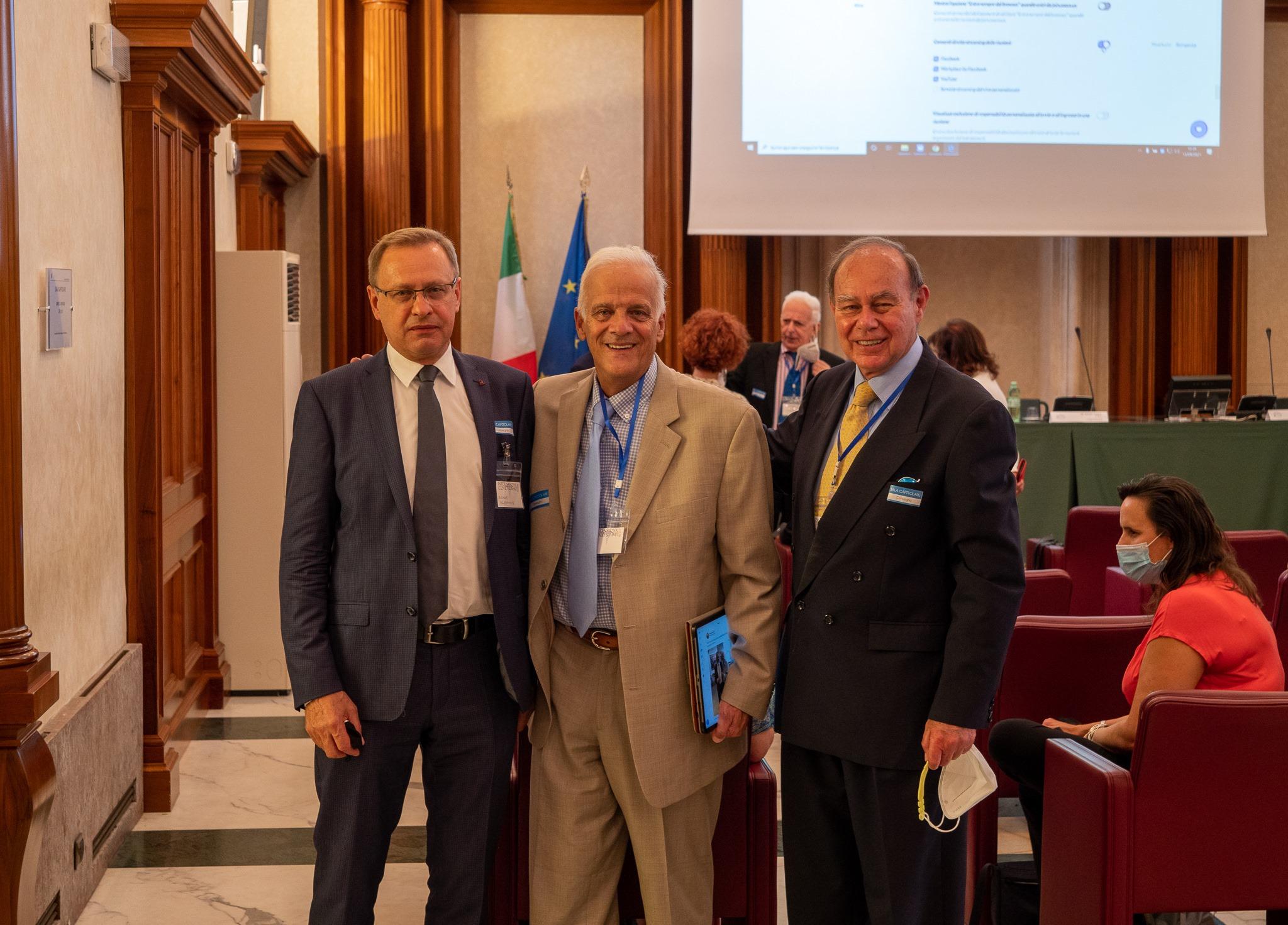 WŁODZIMIERZ BODNAR we włoskim Senacie zachwalał amantadynę [WIDEO, ZDJĘCIA] - Zdjęcie główne