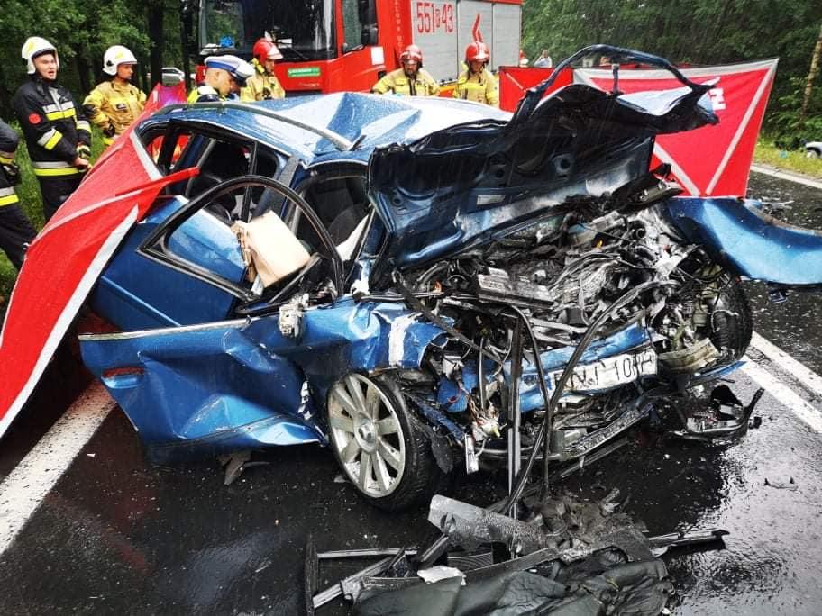 """""""Uwaga! TVN"""" o śmiertelnym wypadku koło Stalowej Woli. - Nie wierzę w to, że był pijany - mówi mama podejrzanego [WIDEO] - Zdjęcie główne"""
