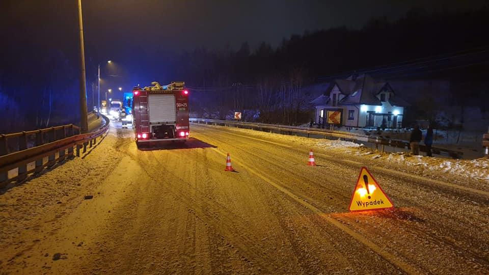 Wyciek substancji chemicznej z ciężarówki! Droga krajowa numer 19 była zablokowana! [MAPA] - Zdjęcie główne