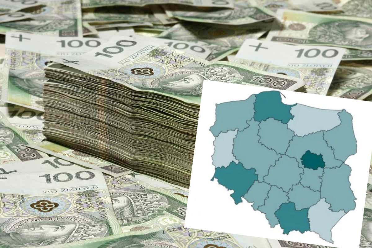 Tyle zarabiają Polacy. Zobacz jak wygląda Podkarpacie na tle kraju - Zdjęcie główne