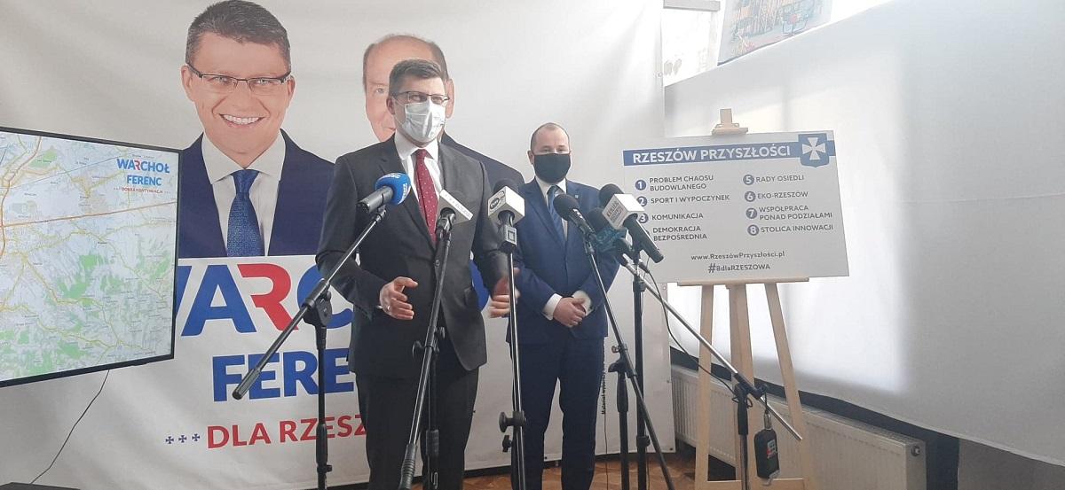 Maciej Masłowski rezygnuje ze startu w wyborach. Namawia do głosowania na Marcina Warchoła - Zdjęcie główne
