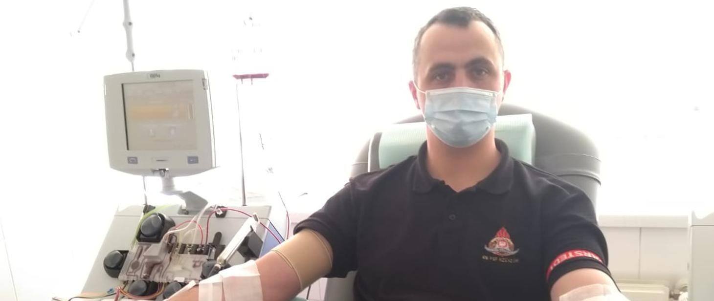 Strażak pomógł rzeszowiance chorej na białaczkę - Zdjęcie główne