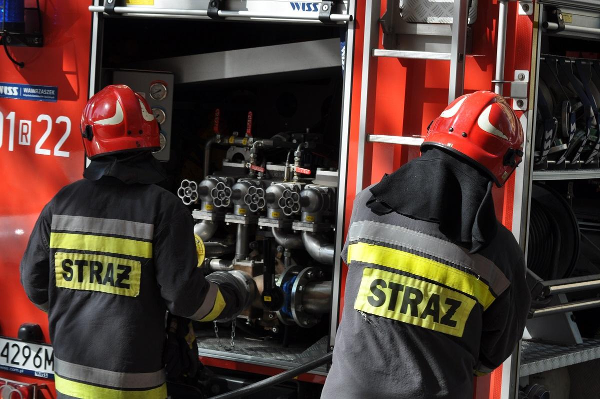 Pożar w Kielnarowej [VIDEO] - Zdjęcie główne