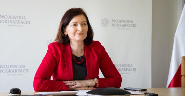 Prezydent Rzeszowa i przewodniczący rady miasta na spotkaniu u wojewody - Zdjęcie główne