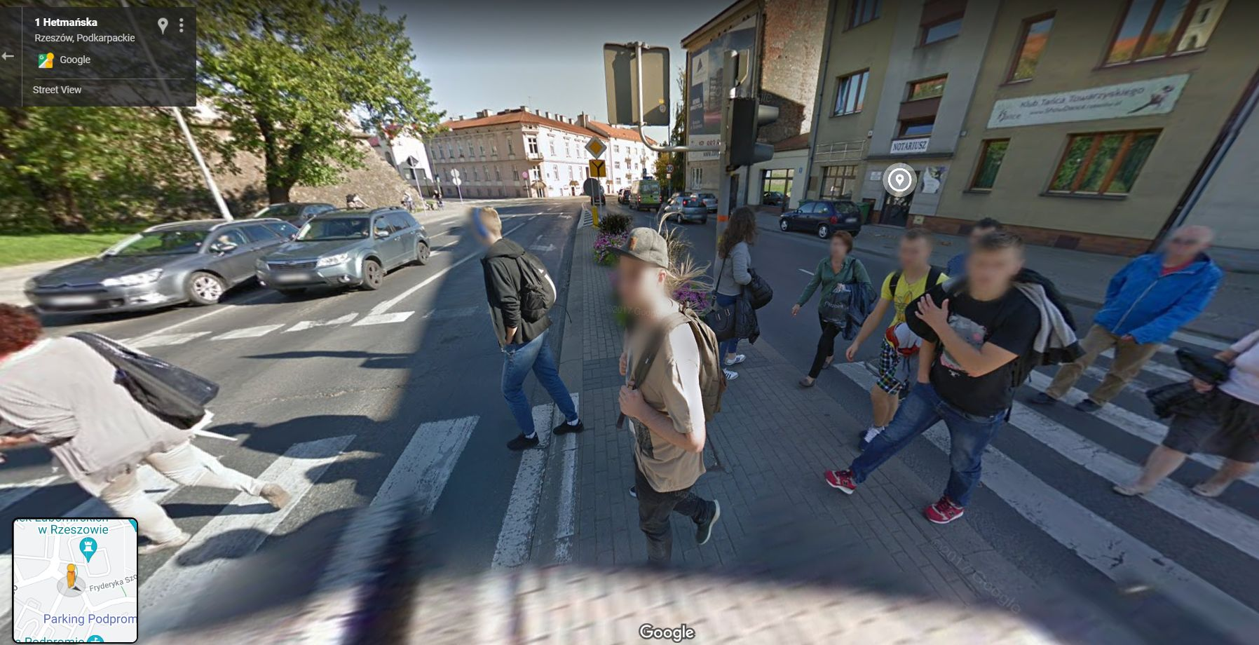Na spacerze, zakupach i nie tylko. Przyłapani przez Google Street View na Podkarpaciu [ZDJĘCIA] - Zdjęcie główne